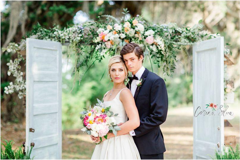 south island plantation wedding inspiration photos