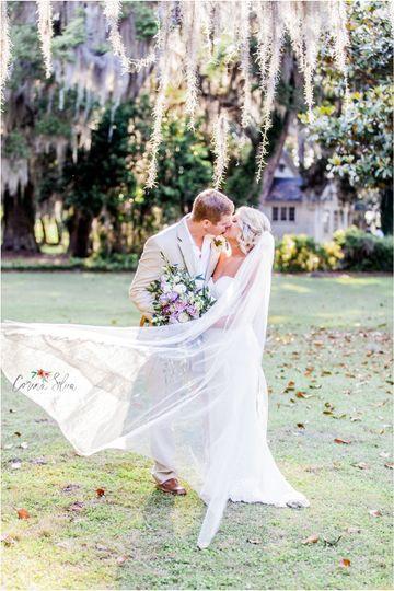 litchfield plantation wedding photos corina silva