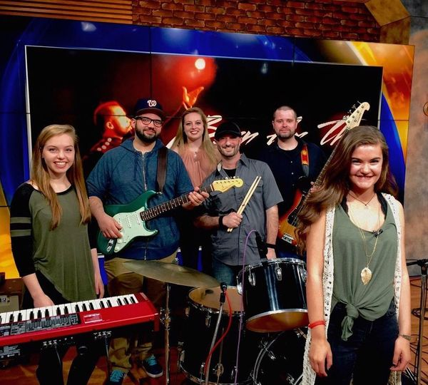 I put this band together to perform for former American Idol contestant, Sara Sturm on Fox 5 Morning...
