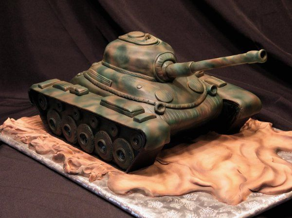 Tank - Grooms Cake