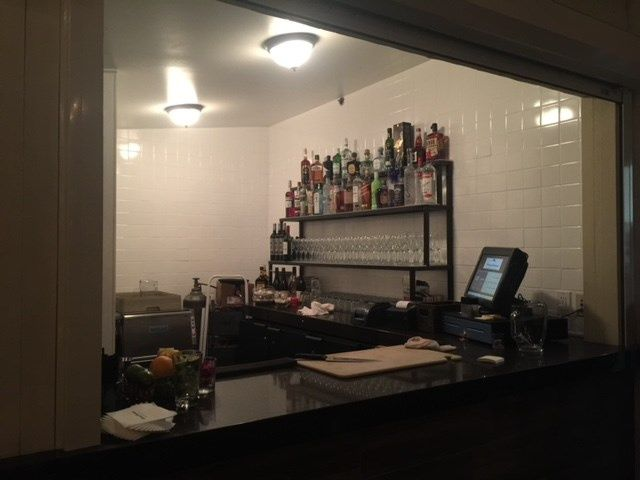 Private Bar on Larkspur Patio