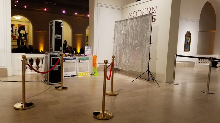 Space for the photobooth