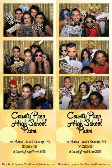 Prom photobooth