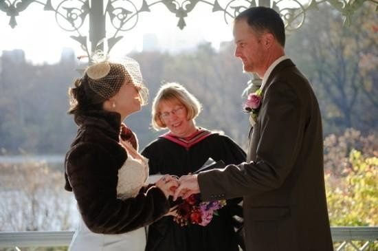 Wedding in Central Park, New York, Ladies Pavilion