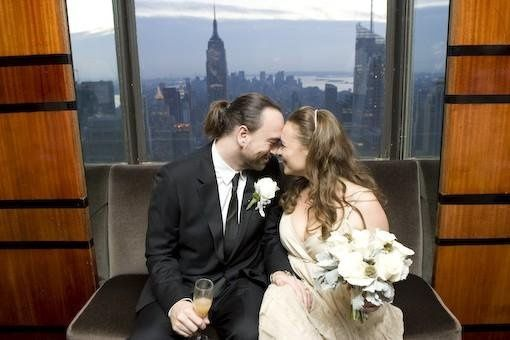 Wedding at Rainbow Rooms (Empire Room) Rockefeller Center, New York.  Photography by Beowulf Shaheen
