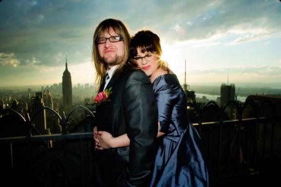Wedding at the Top of the Rock, Rockefeller Center, New York City. Steve Gerrard, Photographer