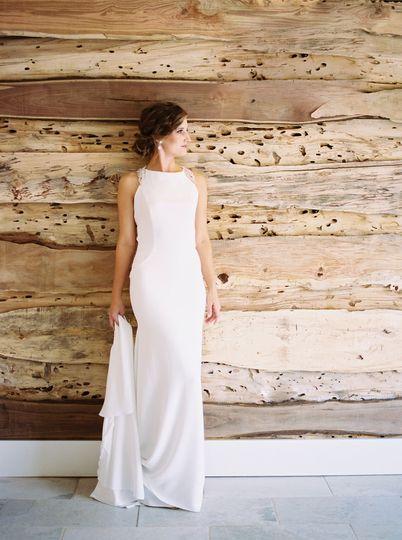 Halter dress | Photo Credit: Abigail Malone