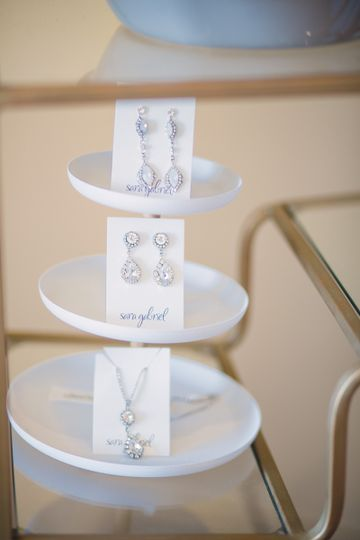Earrings | Photo Credit: Katie Sams, Red Boat Photography