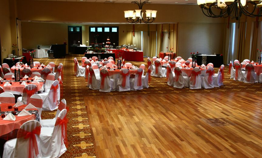 Emerald Ballroom with dance floor and stage