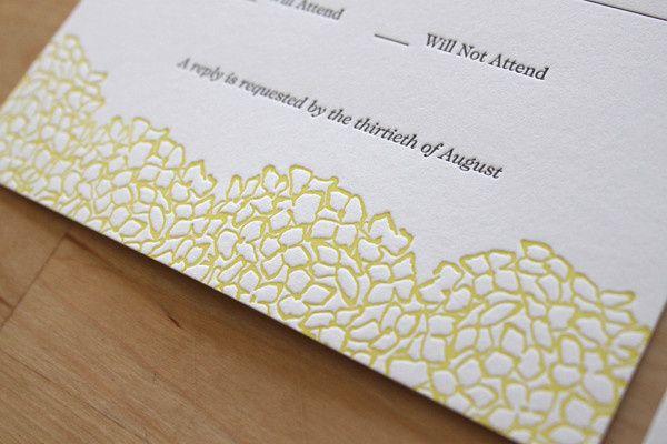 Moontree Letterpress Wedding Invitations New York