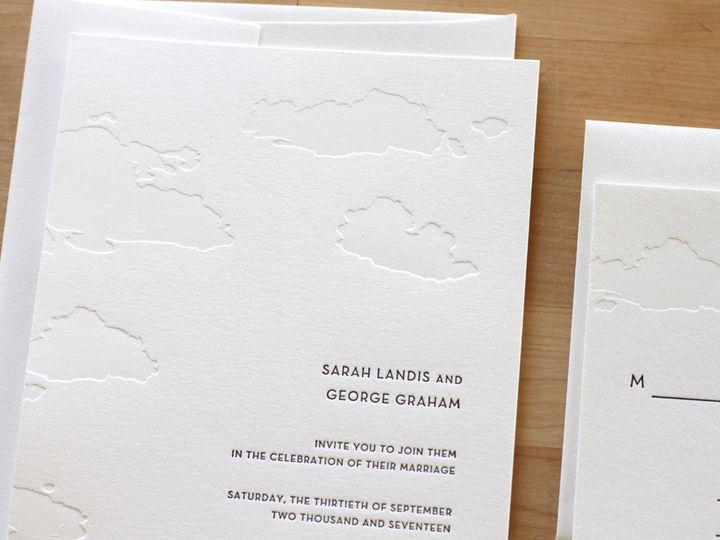 Tmx 1460830855652 Big Sky Letterpress Wedding Invitations Durham wedding invitation