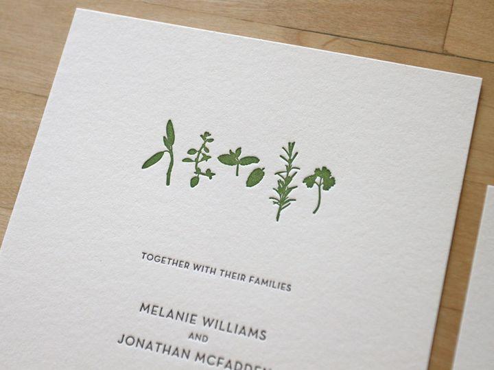 Tmx 1483582475643 Farm To Table Wedding Invitation Durham wedding invitation