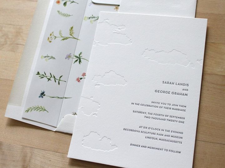 Tmx Clouds Letterpress Wedding Invitation 51 165078 159162205060318 Durham wedding invitation
