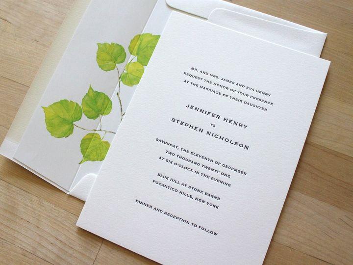 Tmx Copperplate Letterpress Wedding Invitation 51 165078 159162205058850 Durham wedding invitation