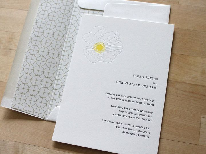 Tmx Icelandic Poppy Letterpress Wedding Invitation 51 165078 159162211082165 Durham wedding invitation