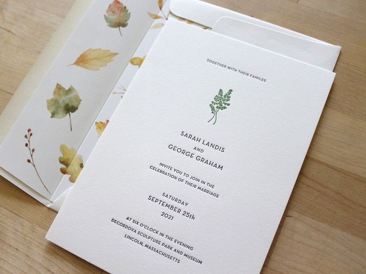 Tmx Maidenhair Letterpress Wedding Invitation 1 51 165078 159162217726914 Durham wedding invitation