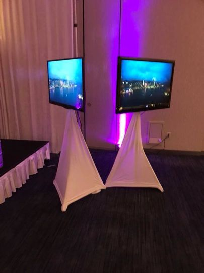 Video Projection/ TV Set Up