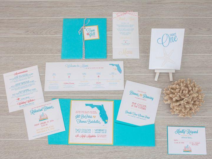 Tmx 1444325412248 Img7072 North Easton, MA wedding invitation