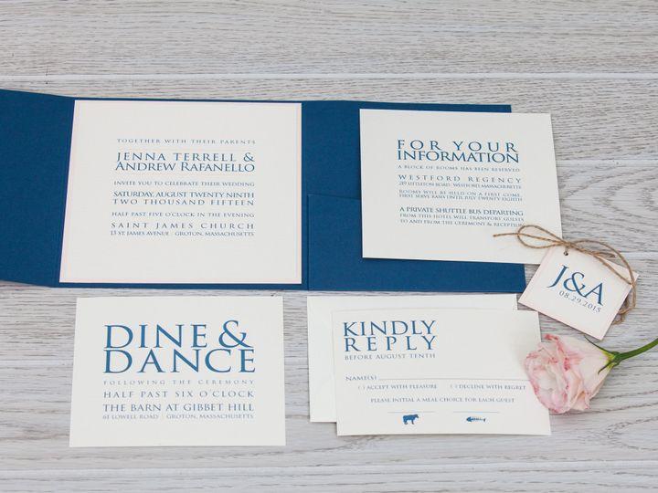 Tmx 1444325451930 Img7204 North Easton, MA wedding invitation