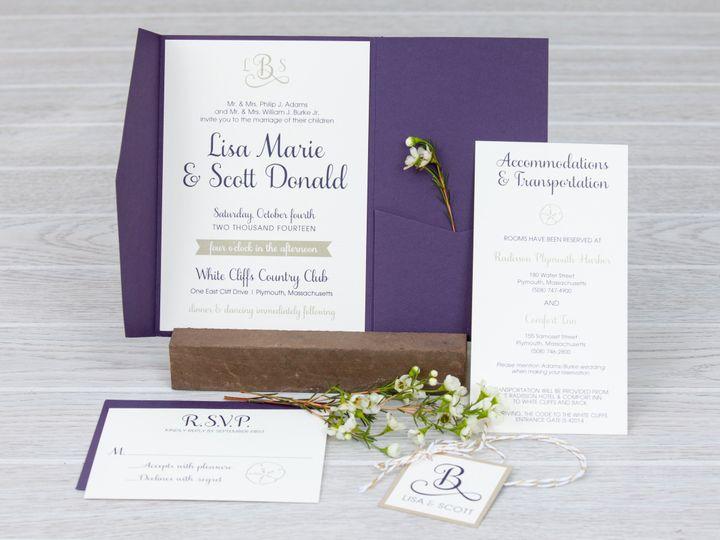 Tmx 1444325489536 Img7292 North Easton wedding invitation