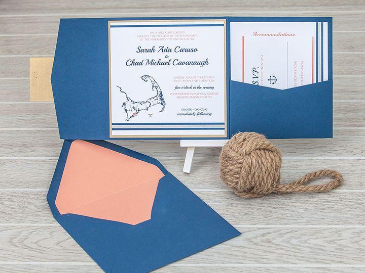 Tmx 1444325684070 Img7140 North Easton, MA wedding invitation