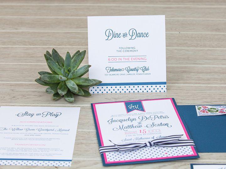 Tmx 1444325690547 Img7171 North Easton, MA wedding invitation