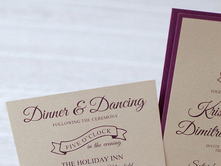 Tmx 1444325701898 Img6108 North Easton, MA wedding invitation