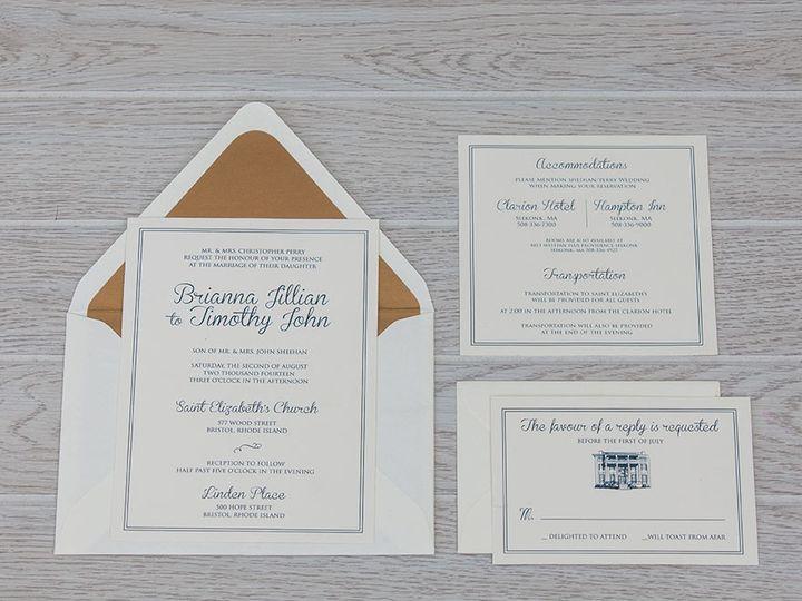 Tmx 1444325738986 Img7262 North Easton, MA wedding invitation