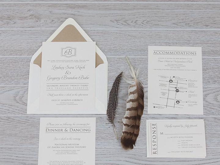 Tmx 1444325770812 Img7252 North Easton, MA wedding invitation
