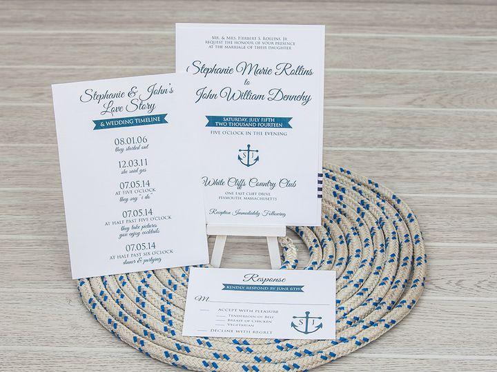 Tmx 1444325803027 Img7151 North Easton, MA wedding invitation