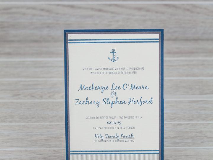 Tmx 1444325938719 Img7157 North Easton, MA wedding invitation