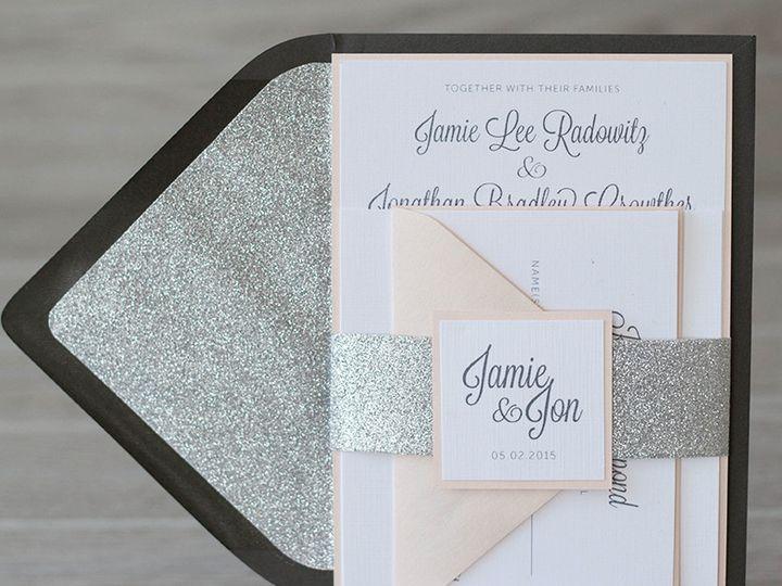 Tmx 1444325969629 Img6017 North Easton, MA wedding invitation