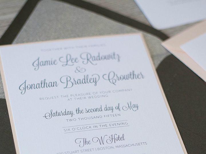 Tmx 1444325977657 Img6022 North Easton, MA wedding invitation
