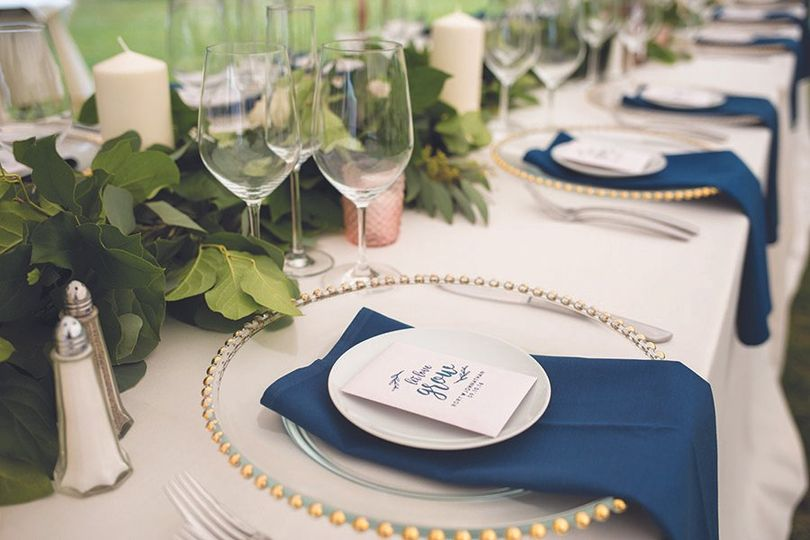 Blue and white motif | Cassandra Henri Photography