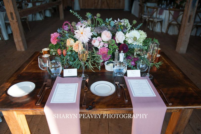 Table setup | Sharyn Peavey Photography