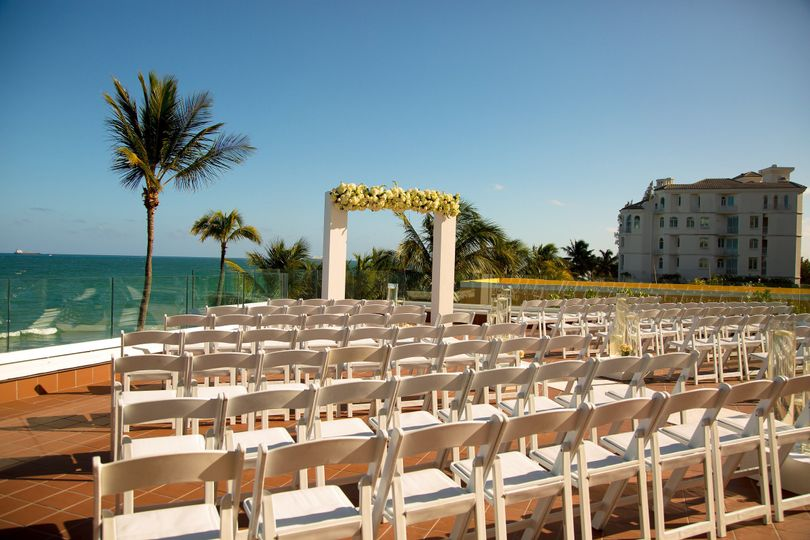 Atlantic terrace ceremony