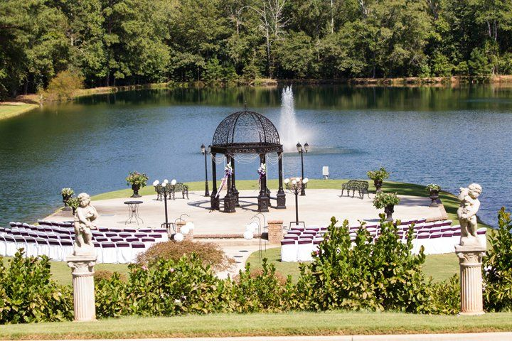 Wedding space by the lake