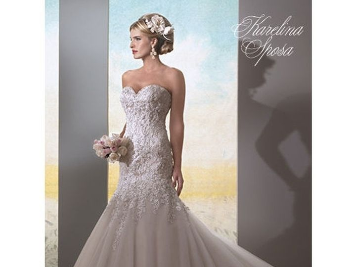 Tmx 1455562439175 Karelina Sposa C7971 Wedding Dress 831534 Sedalia wedding dress