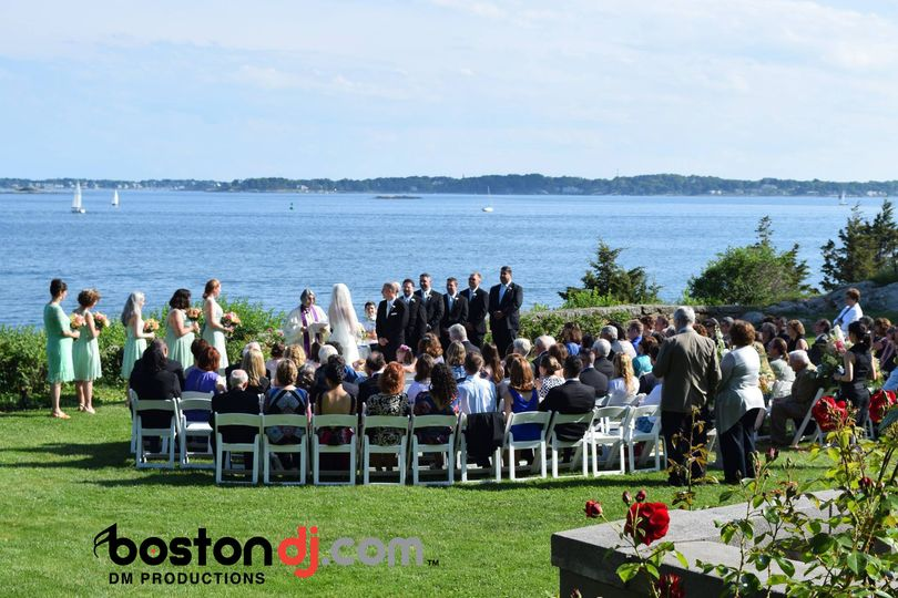 We provide all the mics and music for your ceremony