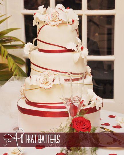 pet wedding cake