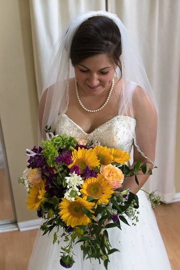 "2016 Fall ""Sunflowers & Wilds"" wedding"