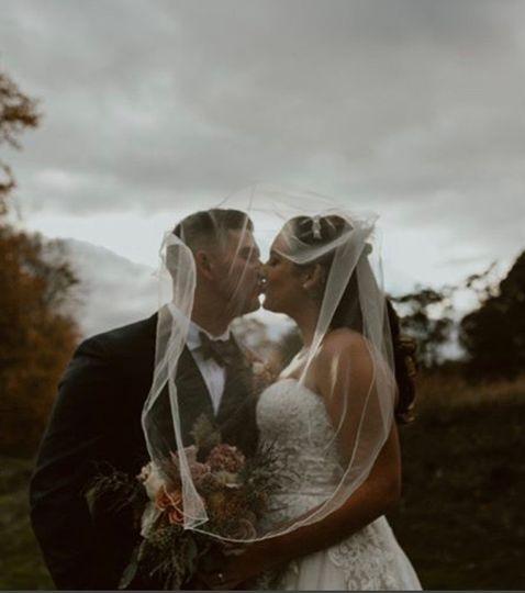 Dark & Moody Late Fall Wedding