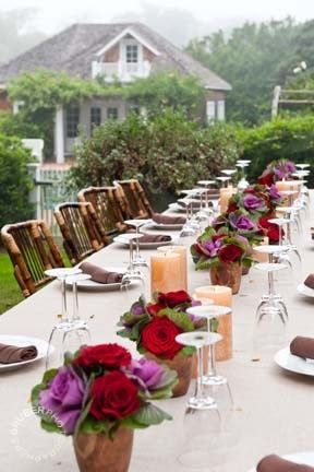 Private dinner - Hamptons style
