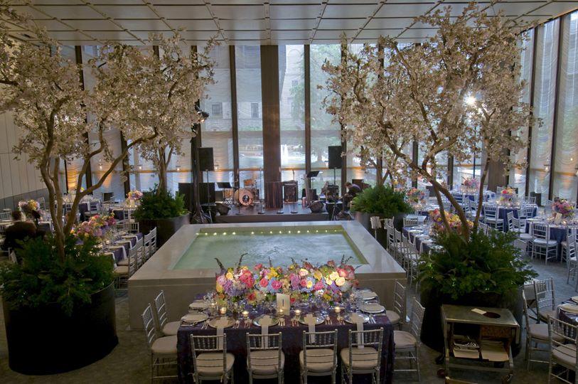 New york city wedding at the famed four seasons restaurant