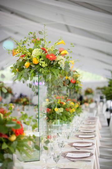 Floral pedestals
