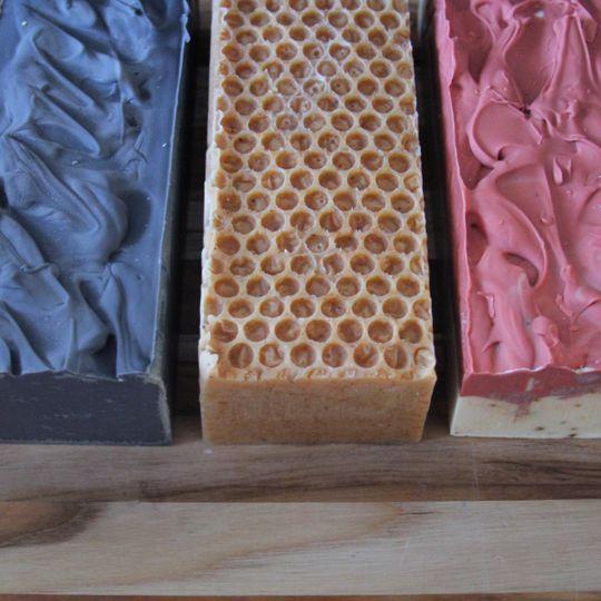 Organic soap loaves