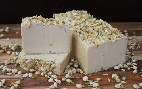 white rabbit bulk organic soap loaf by old factory