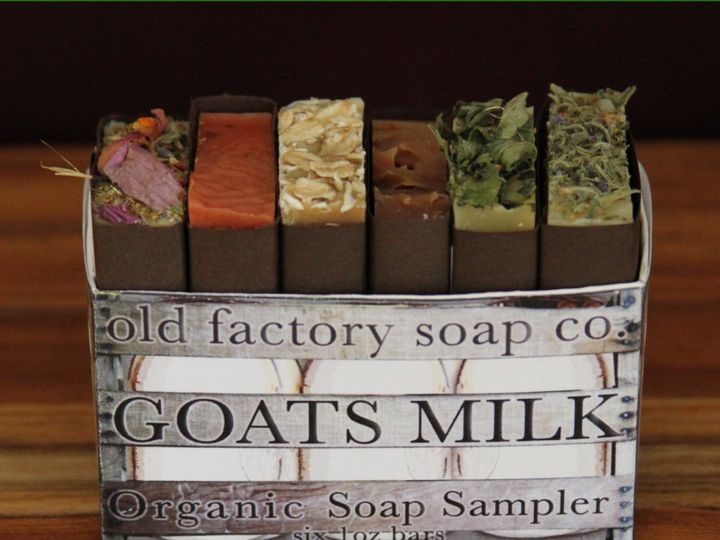 Tmx 1432152231550 Goats Milk Sampler Square Organic Soap Old Factory Austin wedding favor