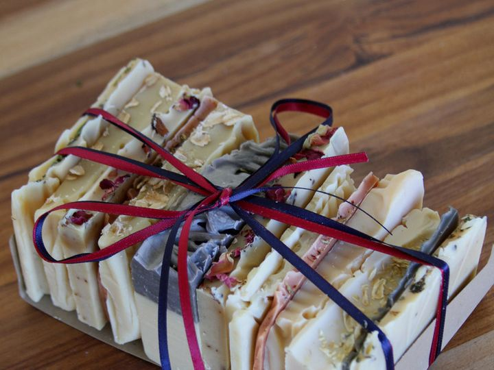 Tmx 1432224170888 Soap Samples Ends Sampler Old Factory Organic Soap Austin wedding favor