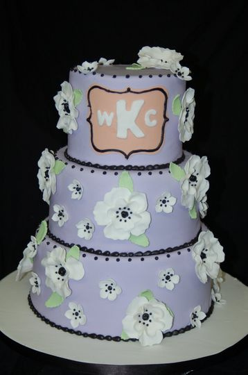 LavenderWeddingCake